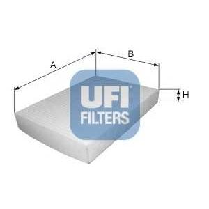 UFI 53.123.00 Фильтр, воздух во внутренном пространстве