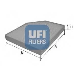 UFI 53.153.00 Фильтр, воздух во внутренном пространстве