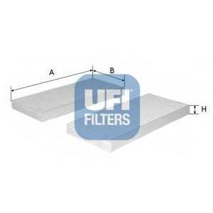 UFI 53.154.00 Фильтр, воздух во внутренном пространстве