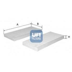 UFI 53.226.00 Фильтр, воздух во внутренном пространстве