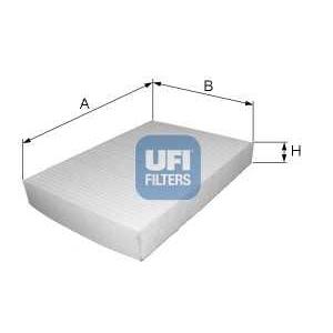 UFI 53.231.00 Фильтр, воздух во внутренном пространстве