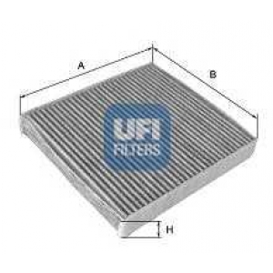UFI 54.114.00 Фильтр, воздух во внутренном пространстве