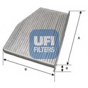 UFI 54.124.00 Фильтр, воздух во внутренном пространстве