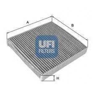 UFI 54.162.00 Фильтр, воздух во внутренном пространстве