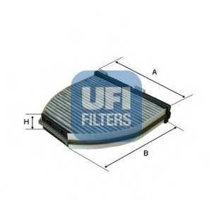 UFI 54.163.00 Фильтр, воздух во внутренном пространстве