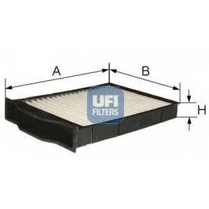 UFI 54.201.00 Фильтр, воздух во внутренном пространстве