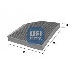 UFI 54.236.00 Фильтр, воздух во внутренном пространстве