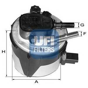 UFI 55.170.00 Топливный фильтр