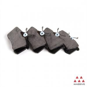 Колодки тормозные дисковые {с пластинами, зад.} (T 7h0698451 vag -