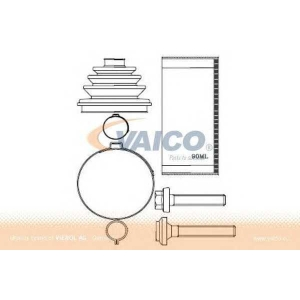 VAICO V10-6376 Half Shaft Boot Kit