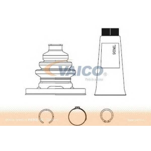 VAICO V20-1196 Half Shaft Boot Kit