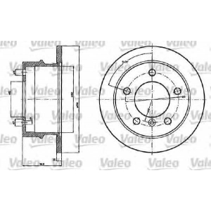 VALEO 187120 Brake disc