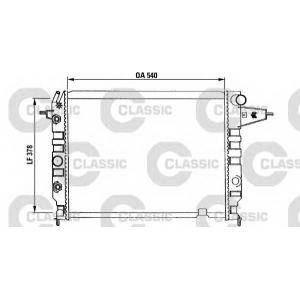 VALEO 230395 Радиатор системы охлаждения-CLASSIC
