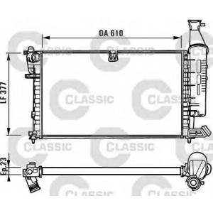 Радиатор, охлаждение двигател 231296 valeo - PEUGEOT PARTNER Combispace (5F) вэн 1.6 16V