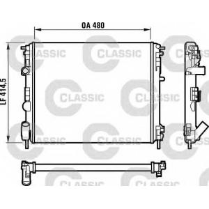 ��������, ���������� �������� 232523 valeo - RENAULT CLIO II ������ (SB0/1/2_) ������ 1.1 (SB0A, SB0F, SB1K, SB2D)