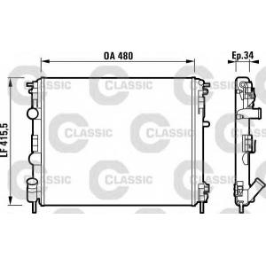 ��������, ���������� �������� 232721 valeo - RENAULT CLIO II (BB0/1/2_, CB0/1/2_) ��������� ������ ����� 1.0