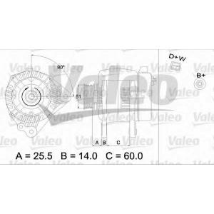 VALEO 437369 Генератор