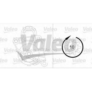 VALEO 458172 Стартер