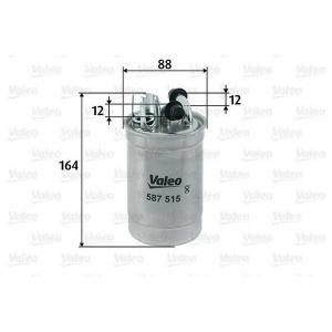VALEO 587515 FILTR PALIWA AUDI A4,A6 2.5TDI V6 97-