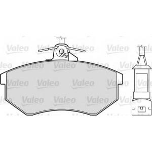 VALEO 598016 Brake Pad