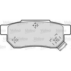 VALEO 598053 Brake Pad