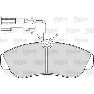 VALEO 598800 Brake Pad