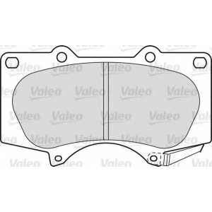 VALEO 598857 Brake Pad