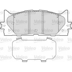 VALEO 598890 Brake Pad