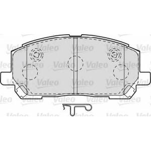 VALEO 598944 Brake Pad