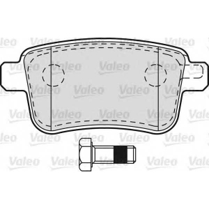 VALEO 601011 Brake Pad