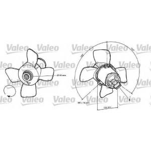 VALEO 696038 Fan
