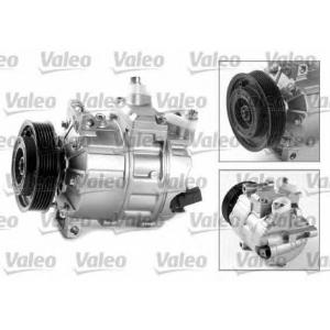Компрессор, кондиционер 699357 valeo - VW GOLF VI (5K1) Наклонная задняя часть 1.2 TSI