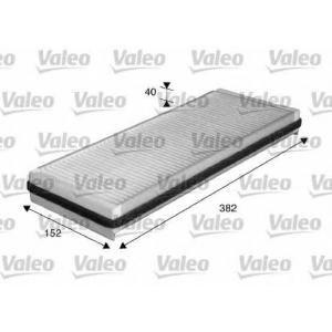 VALEO 715562 (Вуільний) Фільтр салона Renault Espace IV 1.9-2.2dCi, 3.0dV6/3.5V6 11/02-