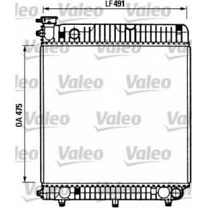 VALEO 730883 Радиатор, охлаждение двигател