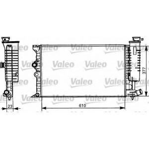 Радиатор, охлаждение двигател 731298 valeo - CITRO?N XANTIA Break (X1) универсал 1.8 i