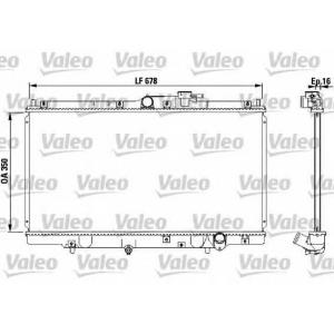 VALEO 731471 Радиатор, охлаждение двигателя