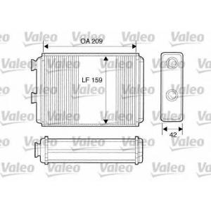 VALEO 812280 Радиатор отопителя салона