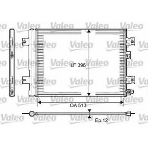 VALEO 814077 Радиатор кондиционера
