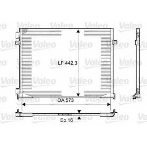 VALEO 814172 Конденсатор кондиционера OPEL (пр-во VALEO)