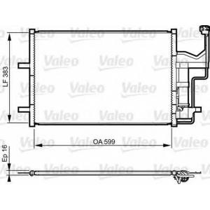 VALEO 814216 AC condenser