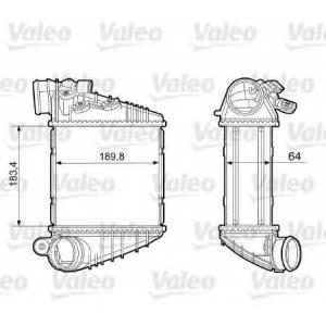 VALEO 817457 Интеркулер