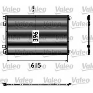 VALEO 817608 Конденсатор кондиционера RENAULT (пр-во VALEO)