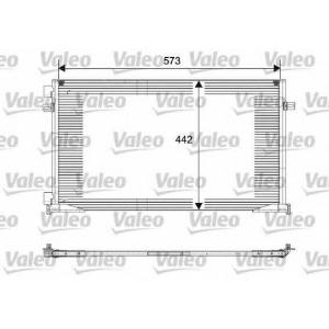VALEO 817644 Конденсер кондиціонера
