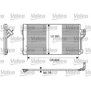 VALEO 817842 Конденсер кондиціонера