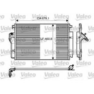 VALEO 818173 Радиатор кондиционера