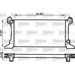 Радиатор, охлаждение двигател 819176 valeo - FORD TRANSIT автобус (T_ _) автобус 1.6 (TBL, TES)