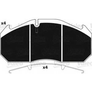 VALEO 882211 Brake Pad