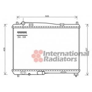 VAN WEZEL 18002440 Радиатор охлаждения FIESTA NT-DIES MT 08-(пр-во Van Wezel)