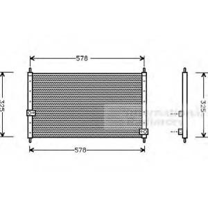 VAN WEZEL 25005062 AC condenser