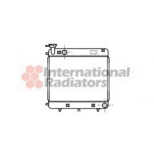 VAN WEZEL 30002085 Радиатор MB W601 SPRINTER 1 76-95 (Van Wezel)